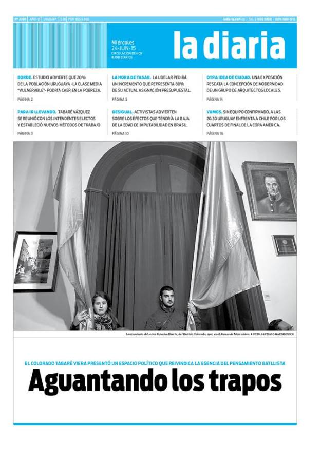 La diaria, edición 24/06/15
