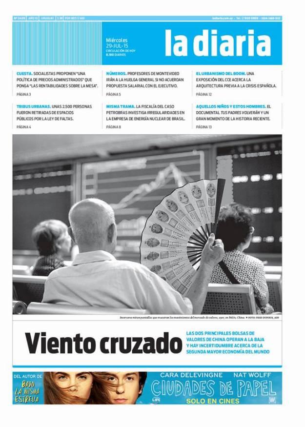 La diaria, edición 28/07/15