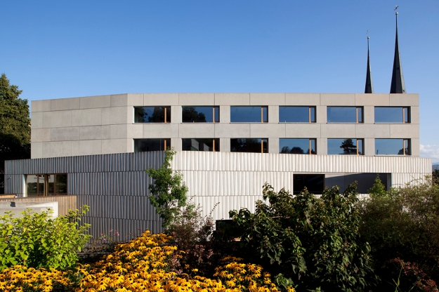 Lussi Halter Architekten - Dreilinden School Propsteimatte © leonardo finotti