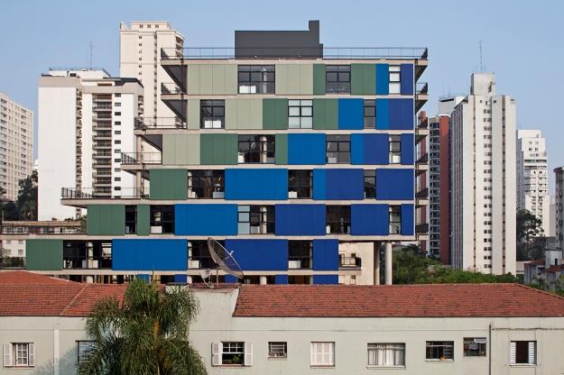 Nitsche Arquitetos - João Moura Building © leonardo finotti